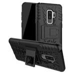 Чехол Yotrix Shockproof case для Samsung Galaxy S9 plus (черный, пластиковый)