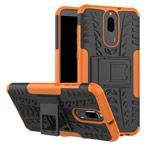 Чехол Yotrix Shockproof case для Huawei Mate 10 lite (оранжевый, пластиковый)