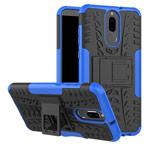 Чехол Yotrix Shockproof case для Huawei Mate 10 lite (синий, пластиковый)