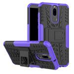 Чехол Yotrix Shockproof case для Huawei Mate 10 lite (фиолетовый, пластиковый)