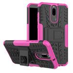 Чехол Yotrix Shockproof case для Huawei Mate 10 lite (розовый, пластиковый)