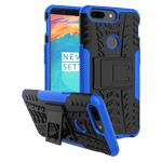 Чехол Yotrix Shockproof case для OnePlus 5T (синий, пластиковый)