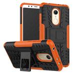 Чехол Yotrix Shockproof case для Xiaomi Redmi 5 (оранжевый, пластиковый)