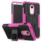 Чехол Yotrix Shockproof case для Xiaomi Redmi 5 (розовый, пластиковый)