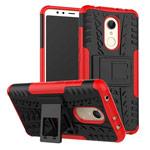 Чехол Yotrix Shockproof case для Xiaomi Redmi 5 (красный, пластиковый)