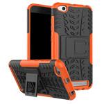 Чехол Yotrix Shockproof case для Xiaomi Redmi 5A (оранжевый, пластиковый)