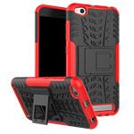 Чехол Yotrix Shockproof case для Xiaomi Redmi 5A (красный, пластиковый)