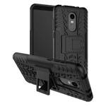 Чехол Yotrix Shockproof case для Xiaomi Redmi 5 plus (черный, пластиковый)