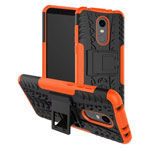 Чехол Yotrix Shockproof case для Xiaomi Redmi 5 plus (оранжевый, пластиковый)
