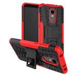 Чехол Yotrix Shockproof case для Xiaomi Redmi 5 plus (красный, пластиковый)