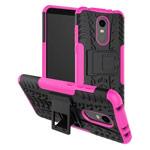 Чехол Yotrix Shockproof case для Xiaomi Redmi 5 plus (розовый, пластиковый)