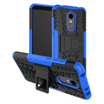 Чехол Yotrix Shockproof case для Xiaomi Redmi 5 plus (синий, пластиковый)