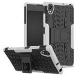 Чехол Yotrix Shockproof case для Sony Xperia XA1 plus (белый, пластиковый)