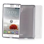 Чехол Jekod Soft case для LG Optimus L9 P765 (белый, гелевый)