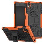 Чехол Yotrix Shockproof case для Sony Xperia XA1 plus (оранжевый, пластиковый)