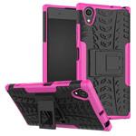 Чехол Yotrix Shockproof case для Sony Xperia XA1 plus (розовый, пластиковый)