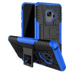 Чехол Yotrix Shockproof case для Samsung Galaxy S9 (синий, пластиковый)