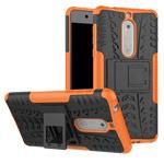 Чехол Yotrix Shockproof case для Nokia 5 (оранжевый, пластиковый)