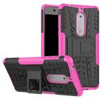 Чехол Yotrix Shockproof case для Nokia 5 (розовый, пластиковый)