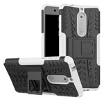 Чехол Yotrix Shockproof case для Nokia 5 (белый, пластиковый)