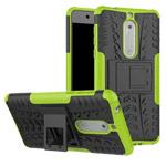 Чехол Yotrix Shockproof case для Nokia 5 (зеленый, пластиковый)
