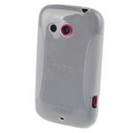 Чехол Jekod Soft case для HTC Desire C A320e (белый, гелевый)
