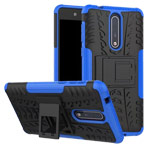 Чехол Yotrix Shockproof case для Nokia 8 (синий, пластиковый)