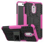 Чехол Yotrix Shockproof case для Nokia 6 (розовый, пластиковый)