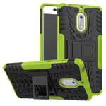 Чехол Yotrix Shockproof case для Nokia 6 (зеленый, пластиковый)
