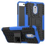 Чехол Yotrix Shockproof case для Nokia 6 (синий, пластиковый)
