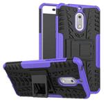 Чехол Yotrix Shockproof case для Nokia 6 (фиолетовый, пластиковый)