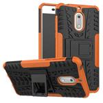 Чехол Yotrix Shockproof case для Nokia 6 (оранжевый, пластиковый)