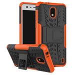Чехол Yotrix Shockproof case для Nokia 2 (оранжевый, пластиковый)