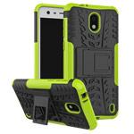 Чехол Yotrix Shockproof case для Nokia 2 (зеленый, пластиковый)