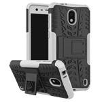 Чехол Yotrix Shockproof case для Nokia 2 (белый, пластиковый)