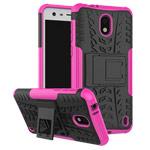 Чехол Yotrix Shockproof case для Nokia 2 (розовый, пластиковый)