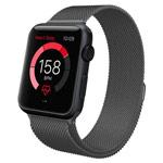 Ремешок для часов Synapse Milanese Loop для Apple Watch (38 мм, темно-серый, стальной)
