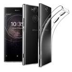 Чехол Yotrix UltrathinCase для Sony Xperia XA2 (прозрачный, гелевый)