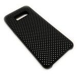 Чехол Yotrix LiquidSilicone Dotted для Samsung Galaxy S8 plus (черный/серый, гелевый)