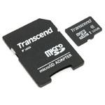 Флеш-карта Transcend microSDHC (32Gb, microSD, Class 10, SD-адаптер)