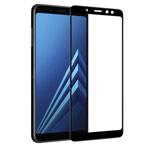 Защитная пленка Nillkin 3D CP+ MAX Glass Protector для Samsung Galaxy A8 2018 (стеклянная, черная)