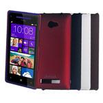 Чехол Jekod Hard case для HTC Windows Phone 8S (коричневый, пластиковый)
