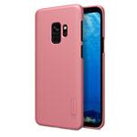 Чехол Nillkin Hard case для Samsung Galaxy S9 (розово-золотистый, пластиковый)