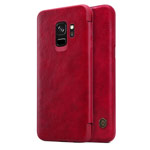 Чехол Nillkin Qin leather case для Samsung Galaxy S9 (красный, кожаный)
