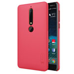 Чехол Nillkin Hard case для Nokia 6 2018 (красный, пластиковый)