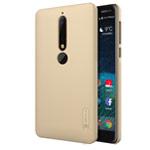 Чехол Nillkin Hard case для Nokia 6 2018 (золотистый, пластиковый)