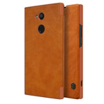 Чехол Nillkin Qin leather case для Sony Xperia XA2 ultra (коричневый, кожаный)