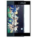 Защитная пленка Yotrix 3D Glass Protector для Sony Xperia XZ1 (стеклянная, черная)
