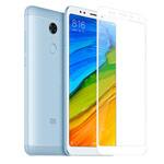 Защитная пленка Yotrix 3D Glass Protector для Xiaomi Redmi 5 (стеклянная, белая)