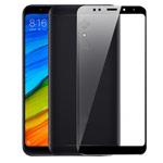 Защитная пленка Yotrix 3D Glass Protector для Xiaomi Redmi 5 plus (стеклянная, черная)